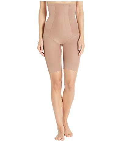 Miraclesuit Shapewear Extra Firm Shape with an Edge Hi-Waist Long Leg (Cocoa) Women