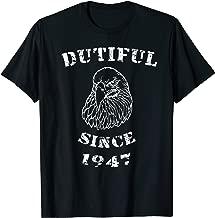 Dutiful 71st Birthday Shirt Patriot Age 71 For Born In 1947