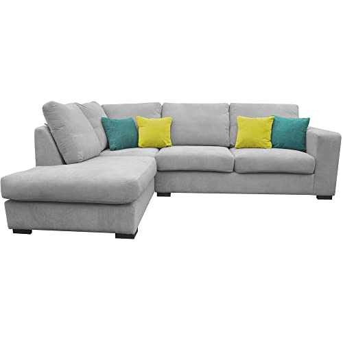 Light Grey Corner Sofa: Amazon.co.uk