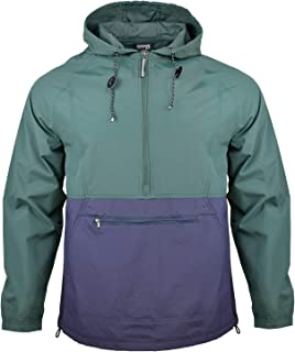 Outdoor Shaping Men's Rain Jacket Waterproof Lightweight Windbreaker Breathable Hooded Rain Coat