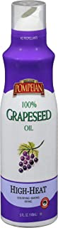 Pompeian 100% Grapeseed Oil Non-Stick Cooking Spray, Perfect for Stir-Frying, Grilling and Sauteing, Naturally Gluten Fre...