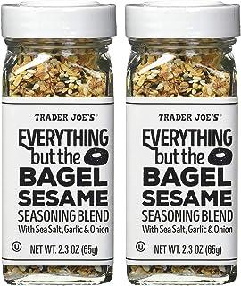 Trader Joe's Everything but The Bagel Sesame Seasoning Blend 2.3 Oz (Pack of 2)