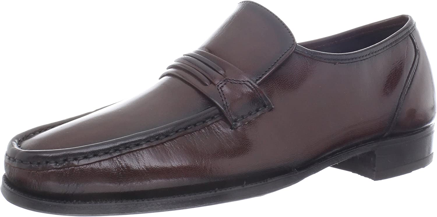 Florsheim Men's Como Slip-On,Black Cherry,12 D US