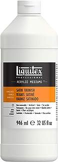Liquitex Satin Varnish, Professional, 32-oz (8232), 32oz