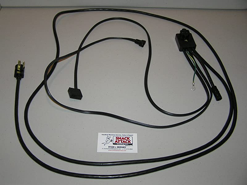 Dixie Narco 368 440 501T 501E 600E SODA Vending Machine Main Power Harness