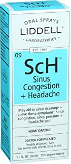 Liddell Homeopathic Sinus Congestion and Headache Spray, 1 Fluid Ounce