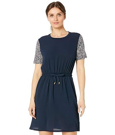 MICHAEL Michael Kors Petite Graphic Logo Combo T-Dress Women