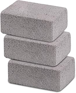 Ajmyonsp 3Pack Grill Cleaning Brick Block Brick-A Magic Stone Pumice Griddle Grilling Cleaner Accessories for BBQ Grills, ...