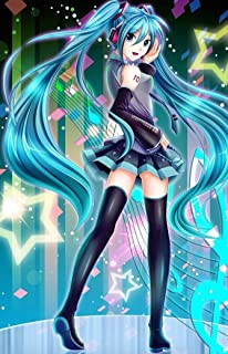 Vocaloid Home Decor Anime Vocaloid Cosplay Wall Poster Hatsune Miku 20 X 13 inches 36 inch x 24 inch A