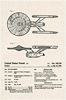 Spaceship Toy 1981 Official Patent Diagram Cool Huge Large Giant Poster Art 36x54