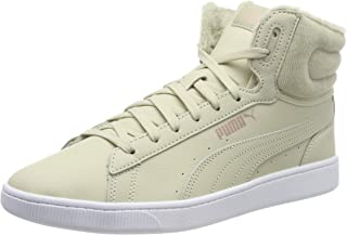 Women's Hi-Top Trainers, Overcast-Rose Gold White, US 7.5