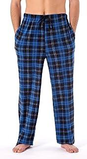 Men's Classic Camo or Checked Polar Fleece Trouser Bottoms