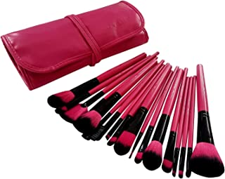 Dream Maker 18 Piece Makeup Brush Set (Pink)