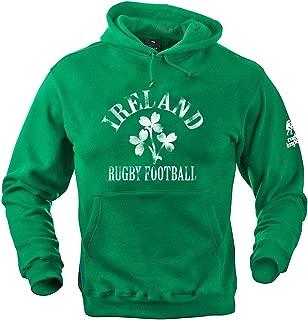 Ireland Rugby Logo Hoodie - Kelly Green