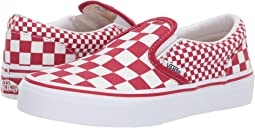 bba6825c66 (Mix Checker) Chili Pepper True White. 190. Vans Kids. Classic Slip-On ...