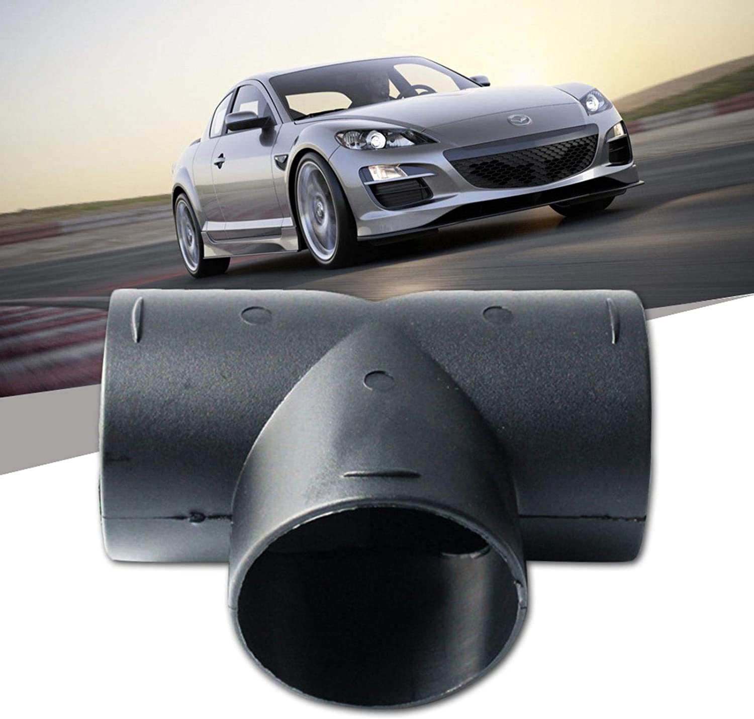 Pipe Tube Insulations Air Ducting Pipe Outlet Exhaust Connector For Air For Diesel Parking Heater 60//75mm Car Heater T Piece Elbow Pipe