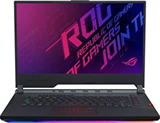 Asus ROG STRIX G G531GV-AL144T-STRIX G Gaming Laptop (Black) - Intel i7-9750H 4.5 GHz, 16 GB RAM, 1000 GB HDD+256GB SSD Hybrid, Nvidia GeForce RTX 2060, 15.6 inches IPS, Windows 10, Eng-Arb-KB