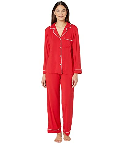 Eberjey Gisele Basics PJ Set (Haute Red) Women
