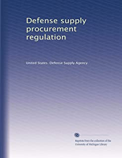 Defense supply procurement regulation