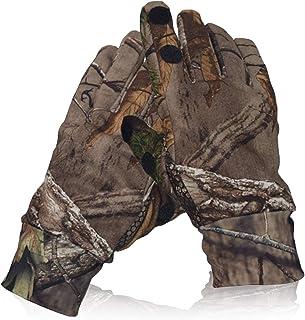 Camo Hunting Gloves Lightweight Pro Anti-Slip Shooting...