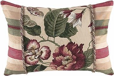 "WAVERLY Laurel Springs Decorative Pillow, 14"" x 20"", Multicolor"