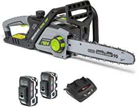 Murray IQ18DCSK Dual 18 V Lithium-Ion 35 cm Cordless Chainsaw Kit, 36 V 1200 W Brushless Motor, 2x5 Ah Battery and Charger...