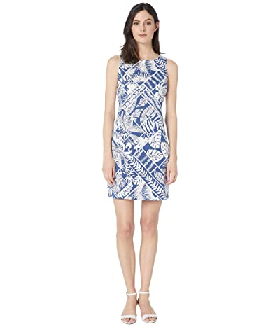 Tommy Bahama Frond of A Frond Sheath Dress (Monaco Blue) Women