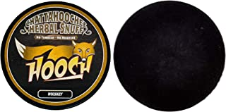 Hooch Snuff - Non-Tobacco Nicotine Free Chew - Whiskey (Long Cut) - Includes DC Skin Can Cover