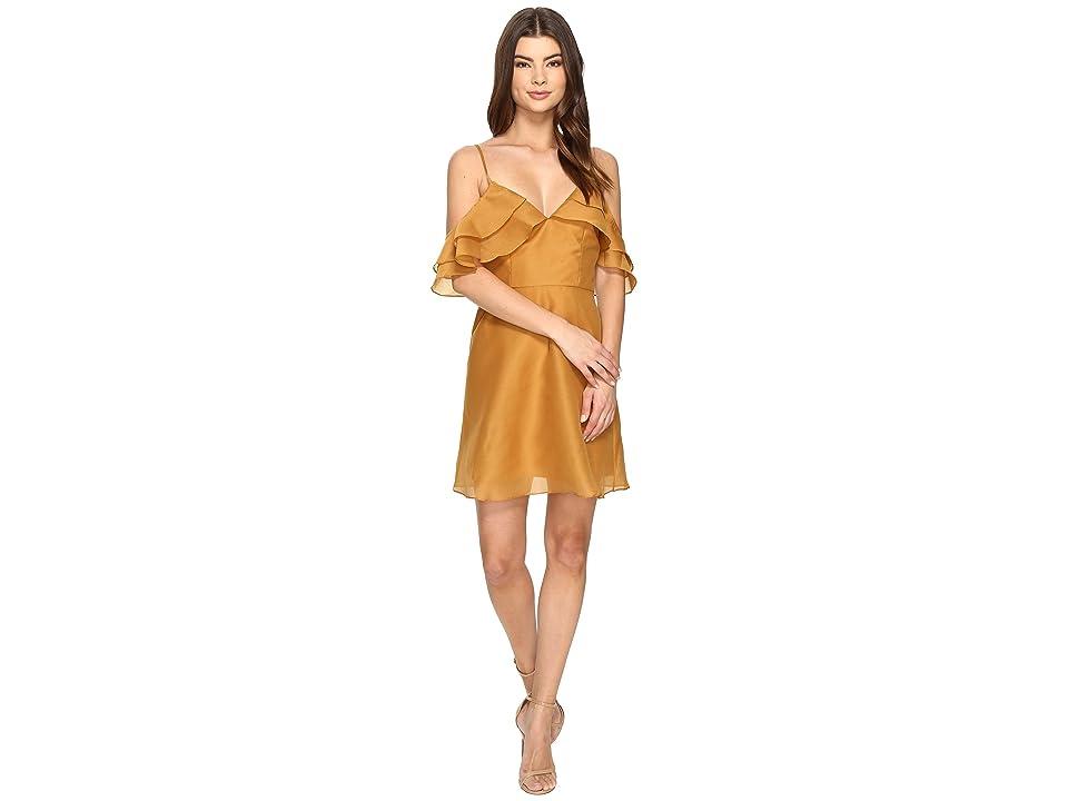 KEEPSAKE THE LABEL Lost Lover Mini Dress (Amber) Women