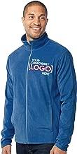 Custom Embroidered Lightweight Jacket for Men - Embroidery Zip Up Fleece Outerwear