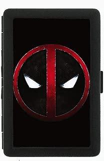 Deadpool Comic Book Black Cigarette Case Holder Wallet RFID-blocking
