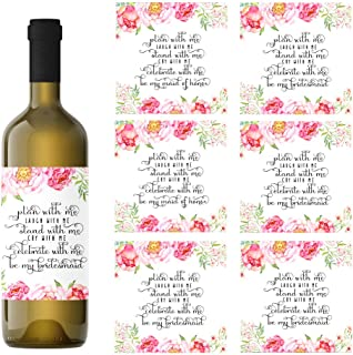 bridesmaid wine labels australia