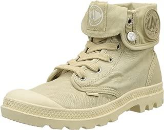 Palladium Boots Women's Baggy Canvas Boots, Sahara/Ecru, 10 B(M) US