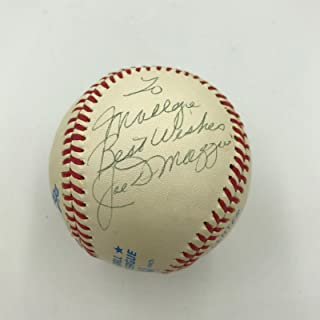 Joe DiMaggio Signed Ball - Vintage Official American League Macphail - PSA/DNA Certified - Autographed Baseballs