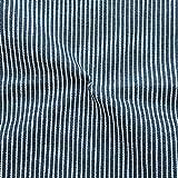 Stoffkontor Stretch Denim Jeans Stoff Streifen Meterware