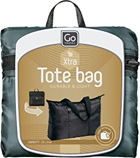 Go-Travel Xtra Light Foldaway Tote Bag, Assorted, 857