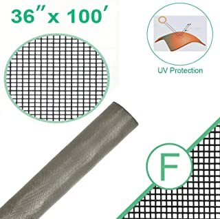 Fiberglass Standard Window Screen Roll for Insect Screening Replacement Window Screens for Window Door and Patio