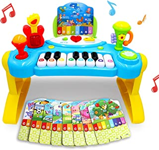Mochoog Toy Piano for Toddlers, Piano for Kids with English