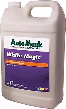 Auto Magic - White Magic - Cleaner/Wax - 1 Gallon: image