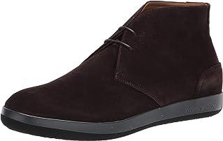 حذاء رجالي من الجلد السويدي برباط من امبوريو ارماني