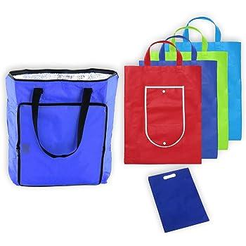 MARKESYSTEM - Bolsa isotermica - Pack Supermercado - 5 Bolsas de ...