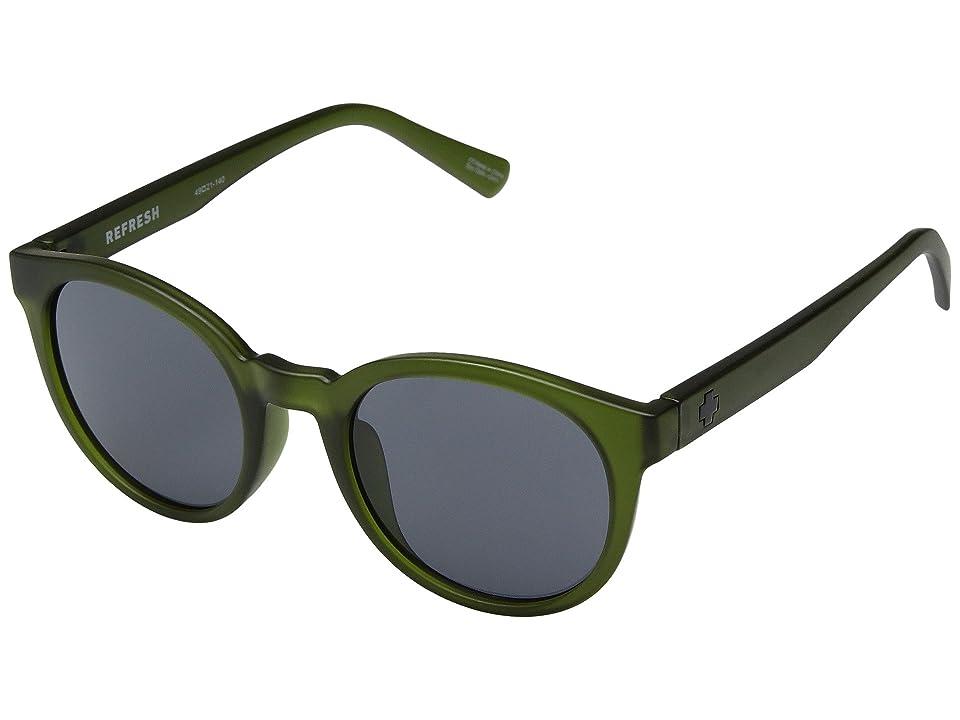 Spy Optic Hi-Fi (Matte Translucent Olive/Gray) Sport Sunglasses