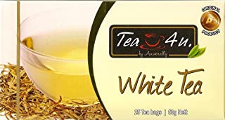 Sponsored Ad - Tea4U Pure White Tea - Natural & Original Ceylon Tea with Rich Antioxidants - Unique Quality with No Additi...