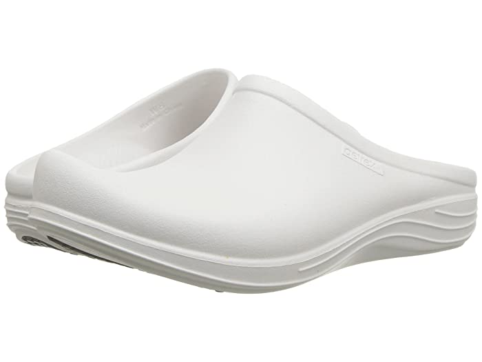 Aetrex  Lynco Clog (White) Womens Clog Shoes