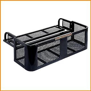 Image of Universal Rear Drop Basket Rack Storage Box Durable Cargo Hunting ATV UTV Rear Drop Rack Steel Strong - House Deals