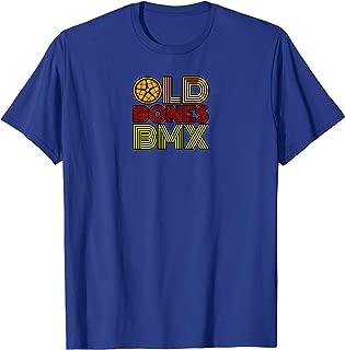 Old Bones Old School Moto Bmx Logo Shirt