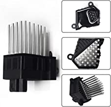 Monrand Blower Motor Resistor Kit Fit for BMW E39, E46, E53, M3, M5, X5, X3 X5 - with Heating and Air Conditioning and Heater Fan Control Module, 64116923204