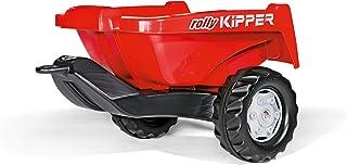 Rolly Toys rollyKipper II für Kinderfahrzeuge rot, für Kinder von 2,5 - 10 Jahre, Einachsanhänger, mit Kippfunktion 128815