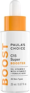 Paula's Choice BOOST C15 Super Booster, 15% Vitamin C with Vitamin E & Ferulic Acid, Skin Brightening Serum, 0.67 Ounce