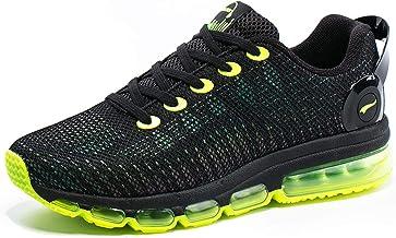 ONEMIX Basket Homme Femme Chaussures de Course Air-Cushion Running Sneakers Réflexions Colorées Fitness Gym Sport Chaussures